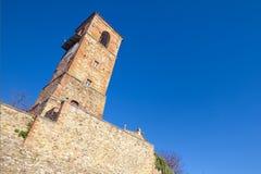 Schloss von Anghiari, mittelalterliche Stadt Arezzos, Toskana Lizenzfreie Stockfotografie