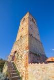 Schloss von Anghiari, mittelalterliche Stadt Arezzos, Toskana Stockbild
