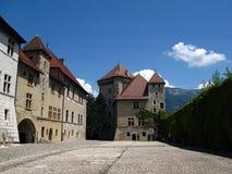 Schloss von Annecy, Frankreich stockbilder
