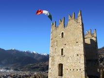Schloss von Arco Lizenzfreie Stockfotografie