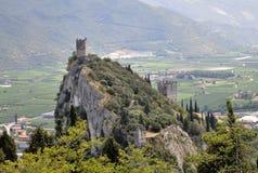 Schloss von Arco Stockbild