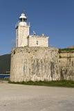 Schloss von Ayia Mavra in Lefkada, Griechenland Stockfotografie