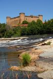 Schloss von Barco De Avila in Avila Stockfotos