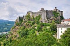 Schloss von Bardi. Emilia-Romagna. Italien. lizenzfreie stockbilder