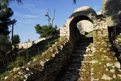 Schloss von Berat stockfotografie