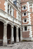 Schloss von Blois. Stockfotos