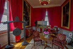 SCHLOSS VON BLOIS, FRANKREICH - CIRCA IM JUNI 2014 Lizenzfreies Stockfoto