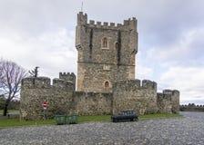 Schloss von braganca, Portugal Lizenzfreie Stockbilder