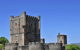 Schloss von braganca, Portugal Lizenzfreie Stockfotografie