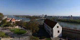 Schloss von Bratislava Lizenzfreies Stockbild