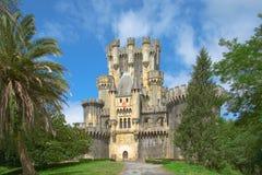 Schloss von Butron Stockbild