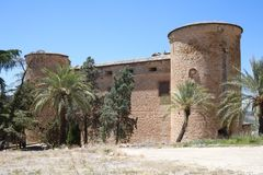 Schloss von Canena Stockbild