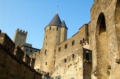 Schloss von Carcassonne 3 Lizenzfreies Stockfoto