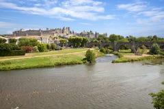 Schloss von Carcassonne Lizenzfreies Stockfoto