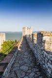 Schloss von Castiglione Del Lago, Trasimeno, Italien Stockfotografie