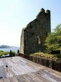 Schloss von Catoira - Pontevedra Stockfoto