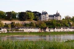Schloss von Chaumont Stockfotografie