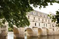 Schloss von chenonceau Lizenzfreie Stockbilder