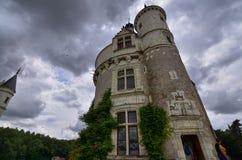 Schloss von Chenonceau, die Loire-Region, Frankreich 27. Juni 2017 Schnappschuß stockfotografie