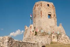 Schloss von Csesznek Stockfotos
