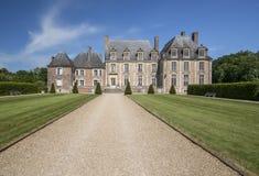 Schloss von de la Ferte St Aubin Stockfoto
