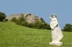 Schloss von Devin Lizenzfreie Stockfotografie