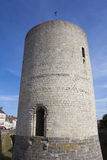 Schloss von Dourdan, Essonne Stockfotos