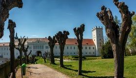 Schloss von Enns in Ober?sterreich lizenzfreie stockbilder