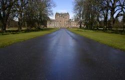 Schloss von Glamis in Schottland Lizenzfreies Stockfoto
