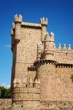 Schloss von Guadamur in Toledo, Spanien Lizenzfreies Stockbild