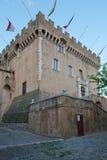 Schloss von Haut de Cagnes Lizenzfreie Stockfotos