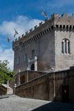 Schloss von Haut de Cagnes Stockfotos