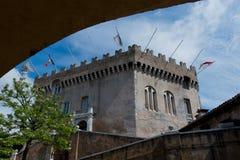 Schloss von Haut de Cagnes Lizenzfreies Stockbild