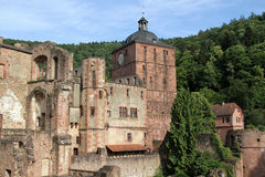 Schloss von Heidelberg Lizenzfreies Stockfoto