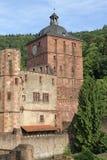Schloss von Heidelberg Stockfotos