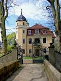 Schloss von Hermsdorf Stockfotos