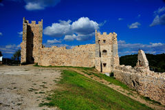Schloss von hyeres Lizenzfreies Stockfoto
