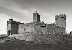 Schloss von Javier Stockfoto