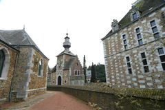 Schloss von Jehay Lizenzfreies Stockbild