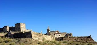 Schloss von Juromenha Lizenzfreies Stockfoto