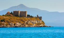 Schloss von Lykourgos Logothetis in Samos-Insel lizenzfreie stockfotografie