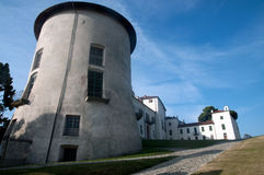 Schloss von Masino, von Caravino u. von x28; Italy& x29; Lizenzfreies Stockfoto