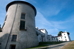 Schloss von Masino, von Caravino u. von x28; Italy& x29; Lizenzfreie Stockfotografie