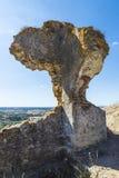 Schloss von Montemor O Novo, Alentejo, Portugal Stockbild