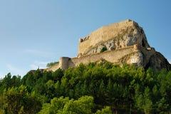 Schloss von Morella stockbild