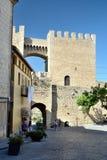 Schloss von Morella Lizenzfreies Stockbild