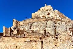 Schloss von Morella spanien Stockfotografie