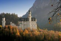 Schloss von Neuschwanstein Stockbilder