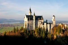 Schloss von Neuschwanstein Stockfoto