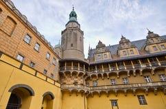 Schloss von Olesnica Herzögen - Olesnica, Polen Stockbild